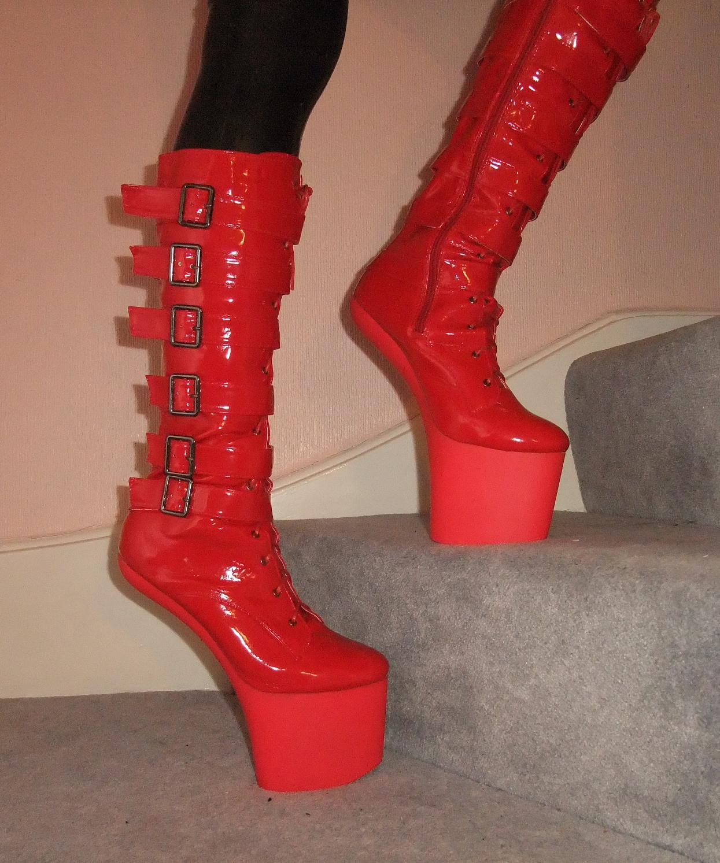 Knee High Pony Boots Triple L